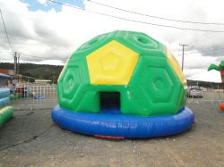 Aluguel Pula Pula Bola de Futebol